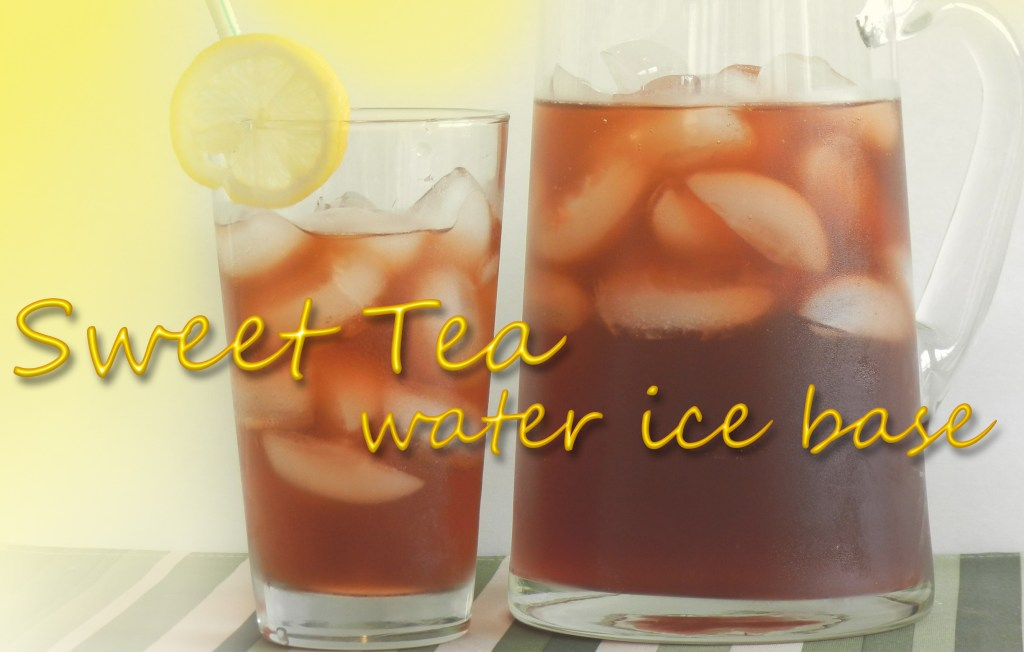 Sweet Tea Water Ice Base | ZRC055