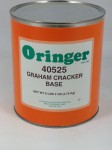 Oringer Graham Cracker Base ZCF527