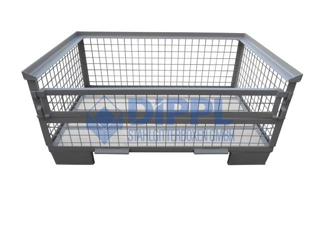 Mittelhohe Gitterboxen