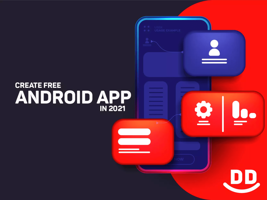 How to create free Android App in 2021