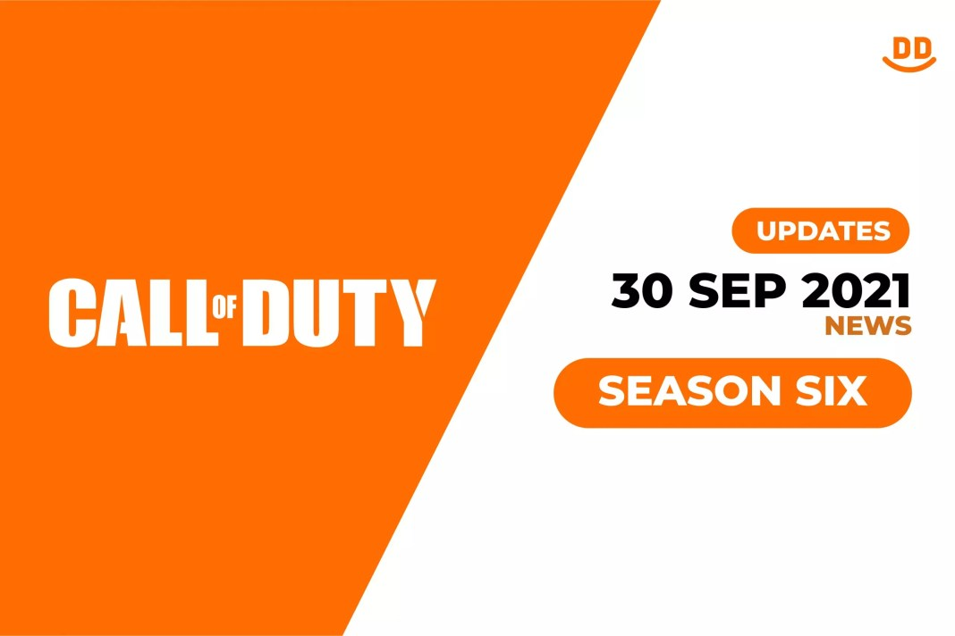 Call of duty updates 2021 Sep