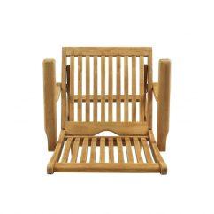 Chair Design Top View Antique Upholstered Rocking Styles Bali Folding Arm Diraja Surya Furniture