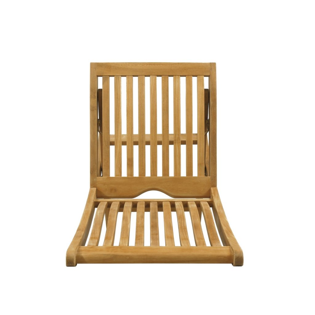 folding yard chair personalized kids chairs bali diraja surya furniture teak natural finished for outdoor living classic