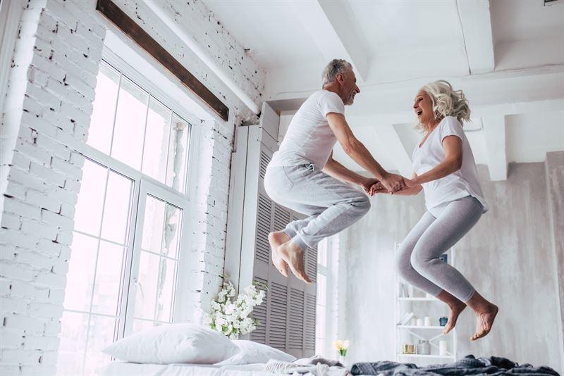 łóżko kontynentalne dla seniorów