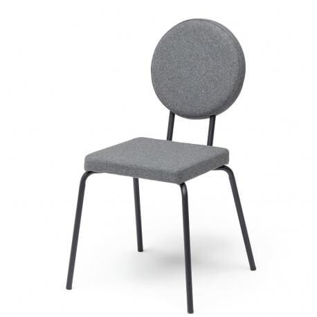 option chaise dossier et assise ronds