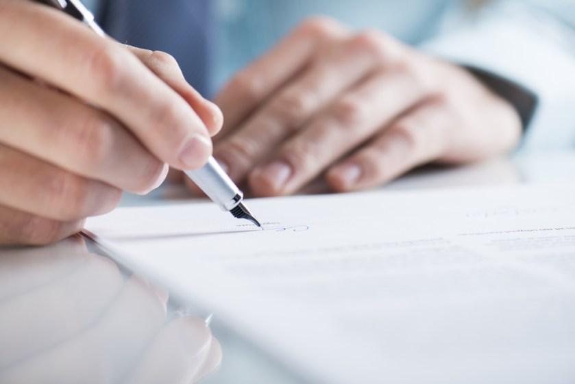handtekening zonder partner lening