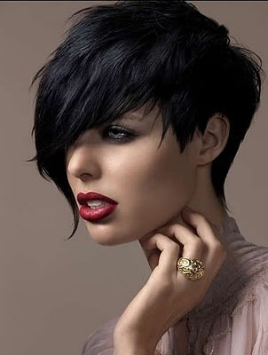 Short Haircut For Fine Hair Chic Modern Bob With Bangs Haircuts Straight