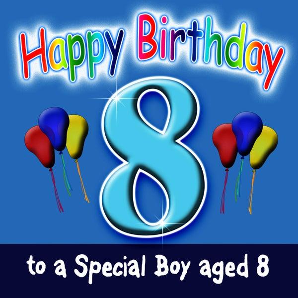 Happy Birthday Boy Age 8 Single By Andy Green