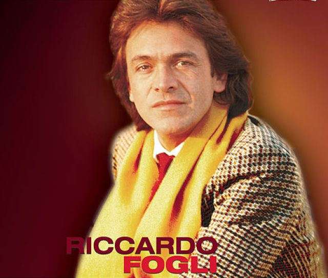 Riccardo Fogli De Riccardo Fogli