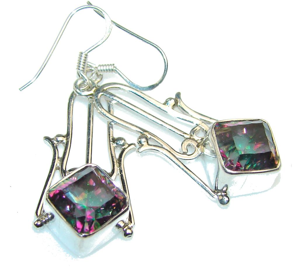 Fantastic Magic Topaz Sterling Silver earrings