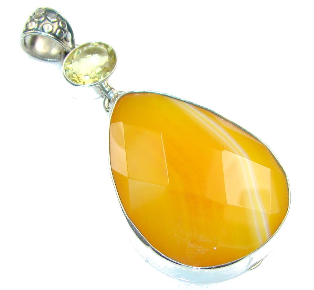 Maya Dreams! Botswna Agate Sterling Silver Bracelet