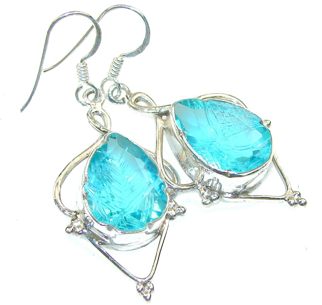 Fresh Apatite Quartz Sterling Silver Earrings