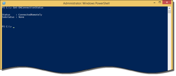 DirectAccess Connectivity Assistant Error