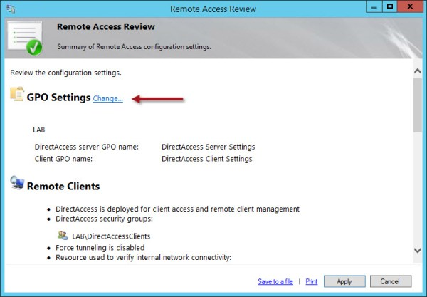 Configuring Multiple Windows Server 2012 R2 DirectAccess Instances