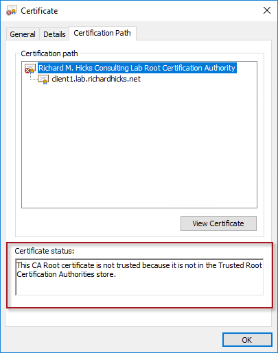 Troubleshooting DirectAccess IP-HTTPS Error 0x800b0109