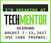 TechMentor Redmond 2017