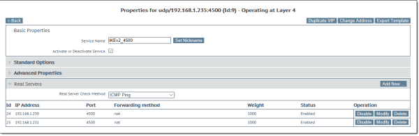 Always On VPN IKEv2 Load Balancing with KEMP LoadMaster