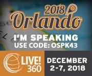 Live! 360 Orlando 2018