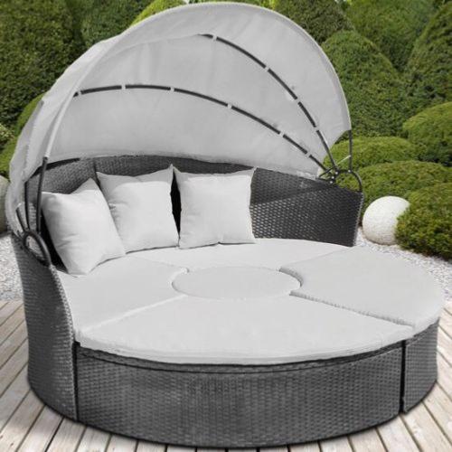 Salon De Jardin Lit Sofa Rond | Lit De Camp Pour Chien Lit ...