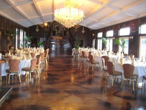 Acid Stained Concrete Ballroom Floors