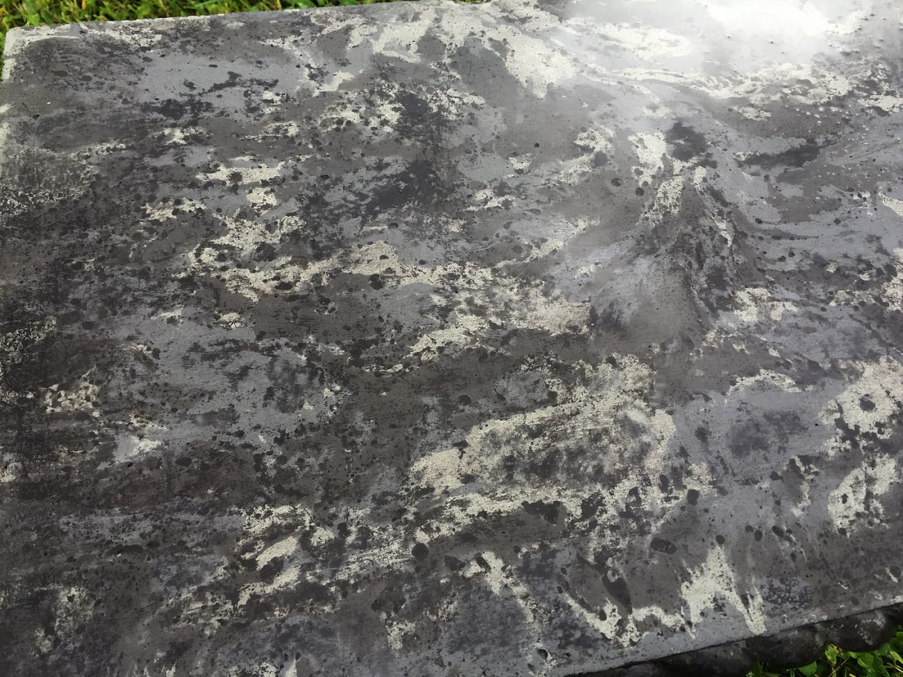 Black Concrete Stain Image Gallery Direct Colors