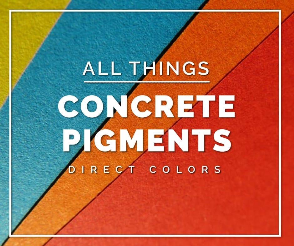 Direct Colors Concrete Pigments