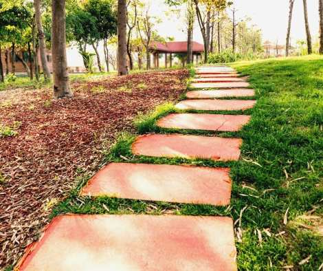 How to Color Concrete Stepping Stones