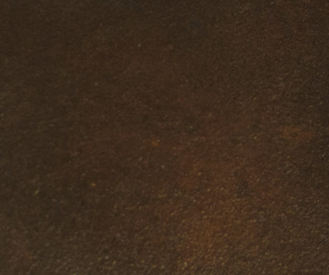 Two coats of Coffee Brown acid stain color swatch
