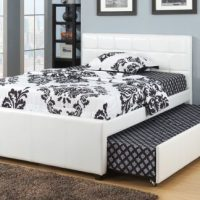 FULL BED W/TRUNDL W/SLATS EXPRESSO  F9214  Direct