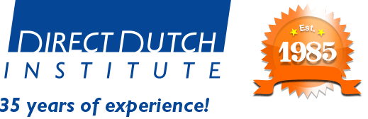 Welcome to the Direct Dutch institute, The Hague.
