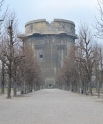 The flak tower at Augarten