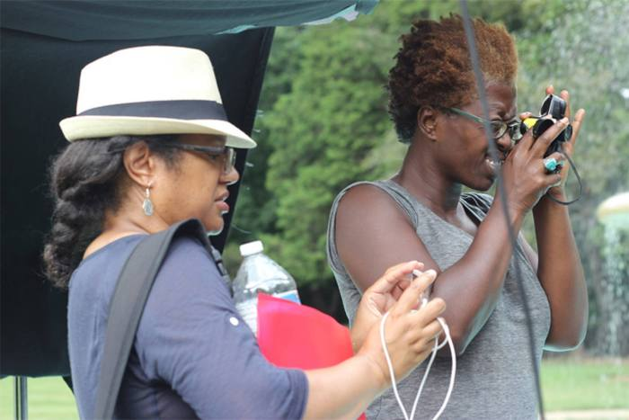 Director Nicole Franklin and DP Cybel Martin