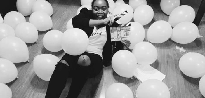 Kate Gondwe on set of Best Friends