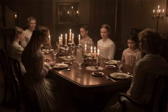 At the dinner table in The Beguiled