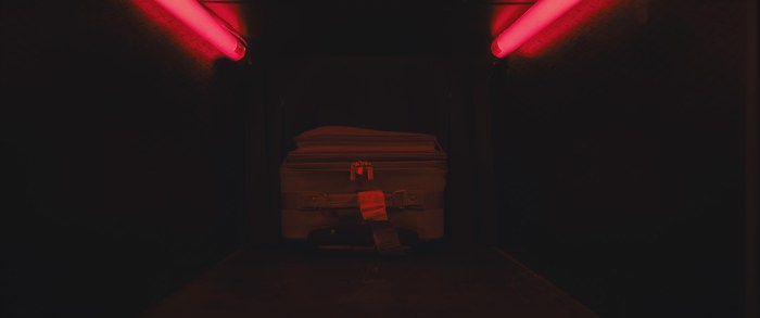 Still image from The Suitcase