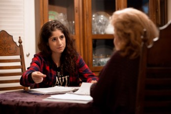 BTS: Victoria Negri directing on set of Gold Star