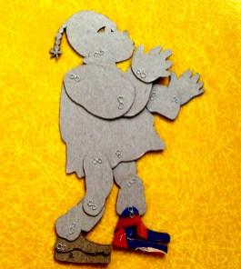 Lotte that Silhouette Girl Wegener puppet