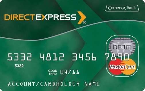 """Direct Express Lost Card"""