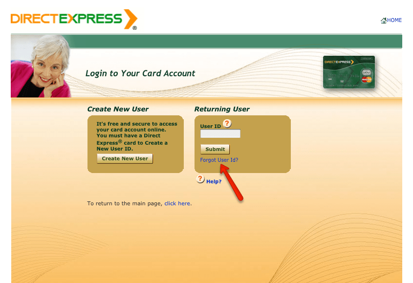"""How to login to Direct Express account 3"""