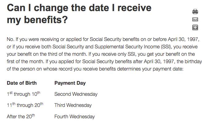 Social security deposit dates in Australia