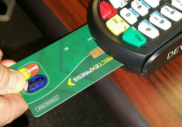 """""""New Direct Express Card With Chip"""""""