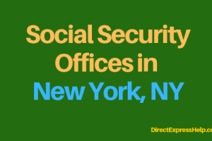"""Social Security Offices in New York City"""
