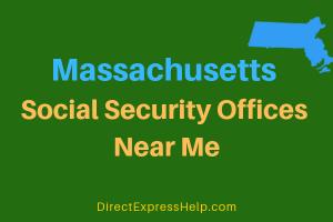 Massachusetts Social Security Offices Near Me