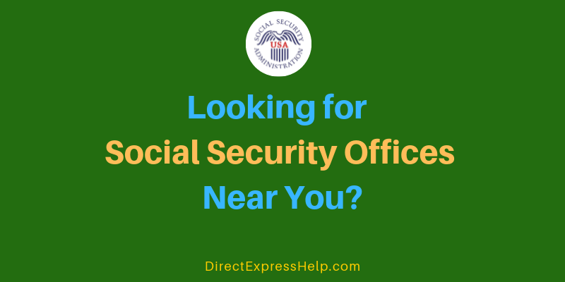 El Paso TX Social Security Office Locations