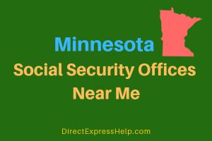 Minnesota Social Security Offices Near Me