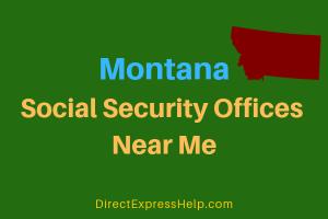 Montana Social Security Offices Near Me