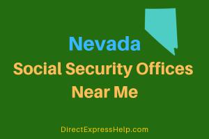 Nevada Social Security Offices Near Me