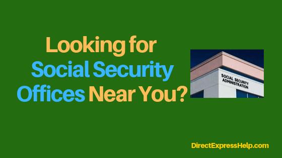 """Virginia Social Security Office Locations"""