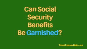 """is social security benefits exempt from garnishment"""
