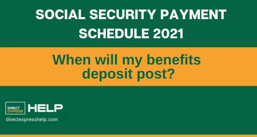"""""""2021 Social Security Payment Schedule"""""""